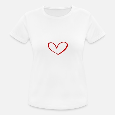 Romantic Hearts Against Hate 315 - Women's Sport T-Shirt