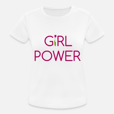 Frauenpower Girlpower - Frauen Sport T-Shirt
