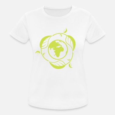 Sustainable Development Recycling Clean Green Clean World Sustainability - Women's Breathable T-Shirt