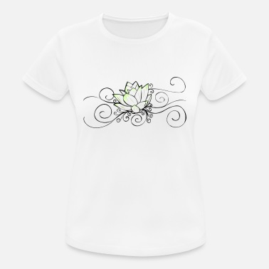 Water Lily Water lily - Women's Breathable T-Shirt