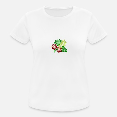 Hibiscus hibiscus - Women's Breathable T-Shirt