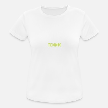 Funny Tennis Tennis Tennis Player Funny Tennis Racket Gifts - Women's Breathable T-Shirt