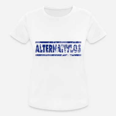Alternativ alternativ - Sport T-skjorte for kvinner