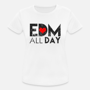 Rave Dance Electronic Dance Music Techno Rave - Camiseta mujer transpirable