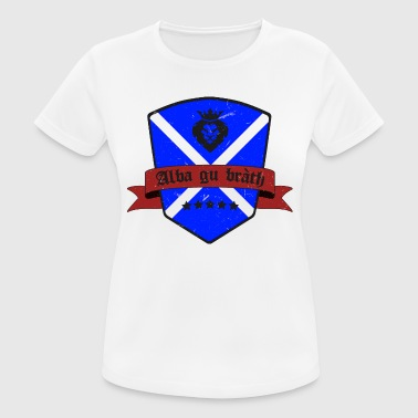 Scotland flag Highland retro vintage - Women's Breathable T-Shirt