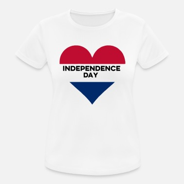 Independence Day Independence Day 4 juillet USA - T-shirt respirant Femme