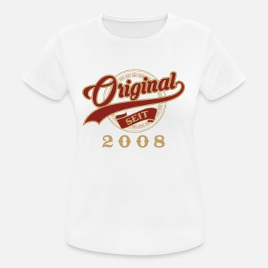 2008 Original since 2008 - vintage gift birthday - Women's Breathable T-Shirt