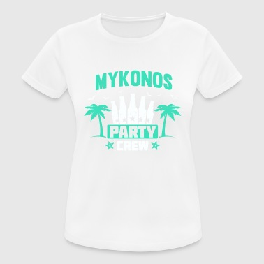Mykonos Party Crew 2018 Shirt Tour Greece - Women's Breathable T-Shirt