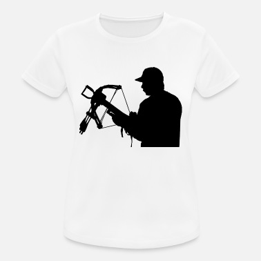 Steppenreiter archery arrow bow crossbow target sports40 - Frauen Sport T-Shirt