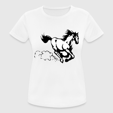 Galloping horse - Women's Breathable T-Shirt