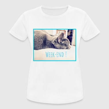 Unzipped Weekend ! - Women's Breathable T-Shirt