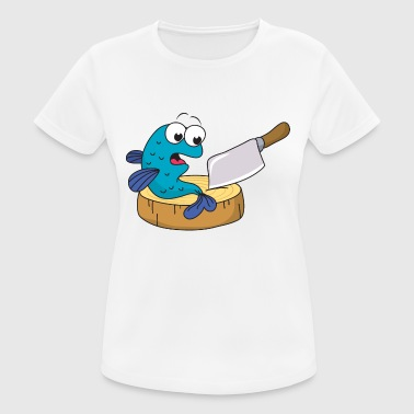 Ax Sport Fish knife ax - Women's Breathable T-Shirt