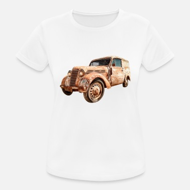 Car Oldtimer Transporter - Women's Breathable T-Shirt