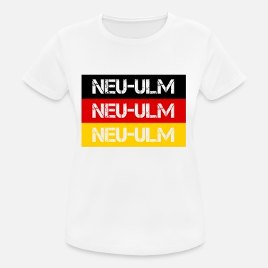 Ulm CITY NEW-ULM, GERMANY - Women's Breathable T-Shirt