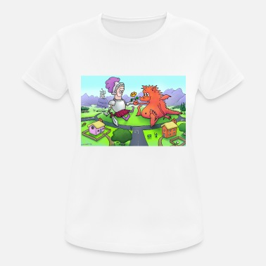George The Dragon George - Women's Breathable T-Shirt