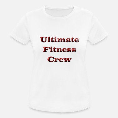 Ultimate Fitness Ultimate Fitness Crew - Women's Breathable T-Shirt
