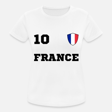 Équipe Nationale Equipe d'Equipe FRANCE - T-shirt respirant Femme