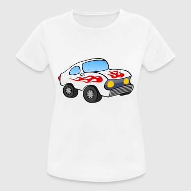 Stöcker stock car - Frauen T-Shirt atmungsaktiv