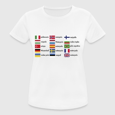 Internationale Lege 2541614 15571293 vandpolo international - Dame T-shirt svedtransporterende