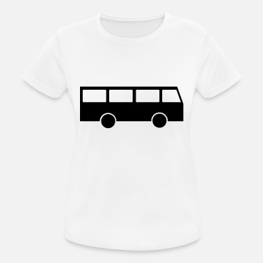 Mode Of Transport school bus coach omnibus school bus verkehr27 - Women's Breathable T-Shirt