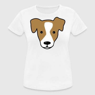 6061912 127733234 Jack Russell - Women's Breathable T-Shirt
