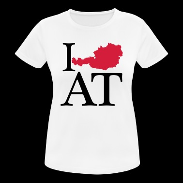 I love AT - I love Austria - Women's Breathable T-Shirt