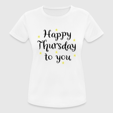 2541614 129631222 thursday - Women's Breathable T-Shirt