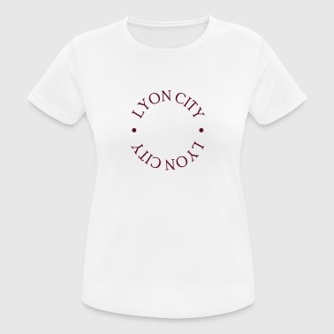 LYON CITY LOGO - Women's Breathable T-Shirt