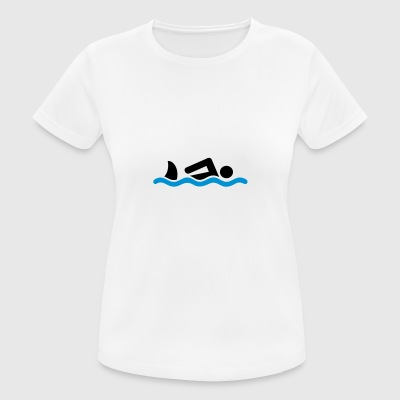 6061912 126150044 swimming - Women's Breathable T-Shirt