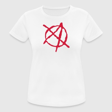Anarchy main dessinée - T-shirt respirant Femme