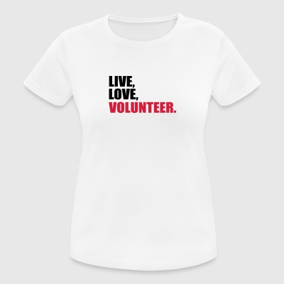 volunteer - Frauen T-Shirt atmungsaktiv