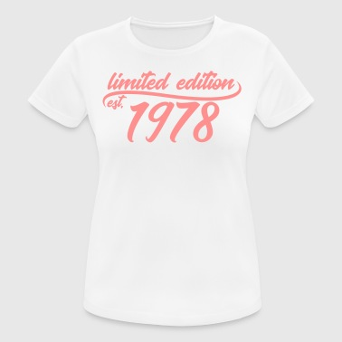 Limited Edition est 1978 - Pustende T-skjorte for kvinner