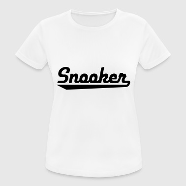 2541614 15470244 snooker - Frauen T-Shirt atmungsaktiv