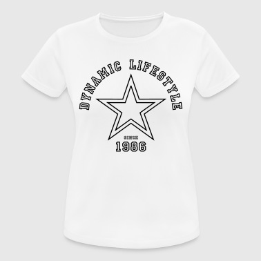 Dynamic Lifestyle 1986 - Women's Breathable T-Shirt