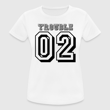 Double Trouble 02 - Camiseta mujer transpirable