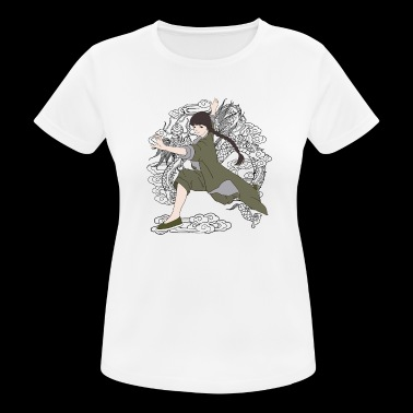 Kung Fu chica - Camiseta mujer transpirable