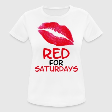 Red for saturdays - Women's Breathable T-Shirt