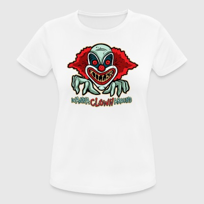 Killer Clown T-shirt - Dame T-shirt svedtransporterende