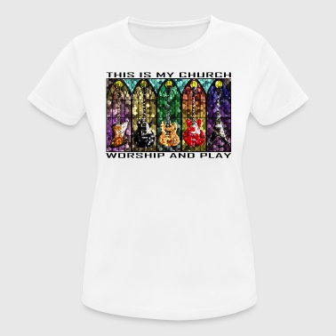 Worship and Play - Women's Breathable T-Shirt