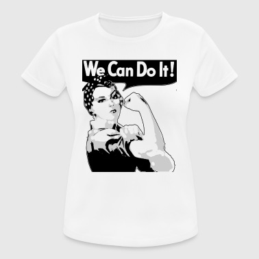 We Can Do It donna - Maglietta da donna traspirante