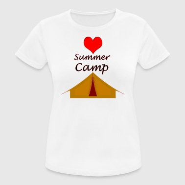 Love summer camp - Women's Breathable T-Shirt