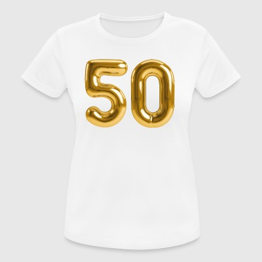 50 - Birthday T - Shirt - Birthday Shirt - party - Women's Breathable T-Shirt