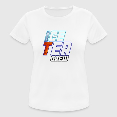 Ice Tea - Dame T-shirt svedtransporterende