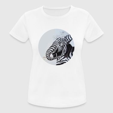 Elephant zebra - Women's Breathable T-Shirt