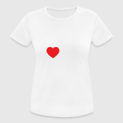I heart you - Women's Breathable T-Shirt