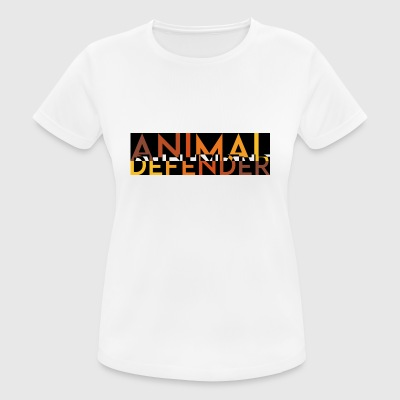 ANIMAL DEFENDER MELT orange - Women's Breathable T-Shirt