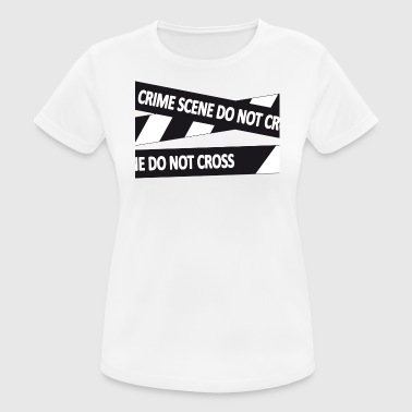 Crimescene - Camiseta mujer transpirable