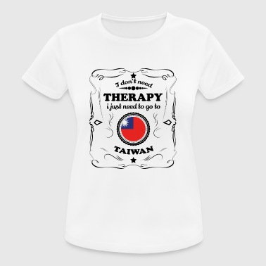 DON T NEED THERAPY GO TAIWAN - Women's Breathable T-Shirt
