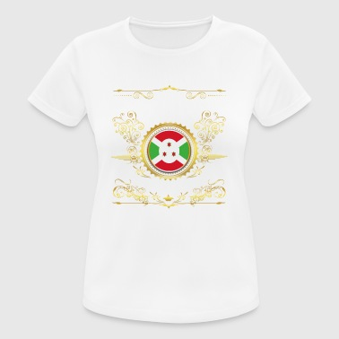PRINCESS PRINCESS QUEEN BORN BURUNDI - Women's Breathable T-Shirt