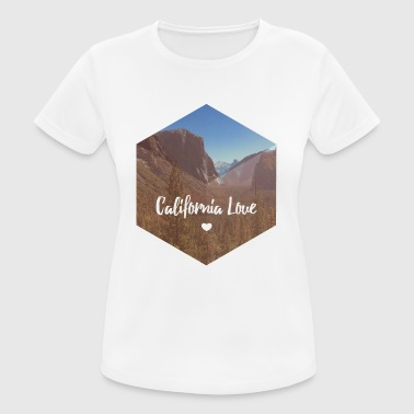 Nationalpark Kalifornien-Yosemite - Frauen T-Shirt atmungsaktiv